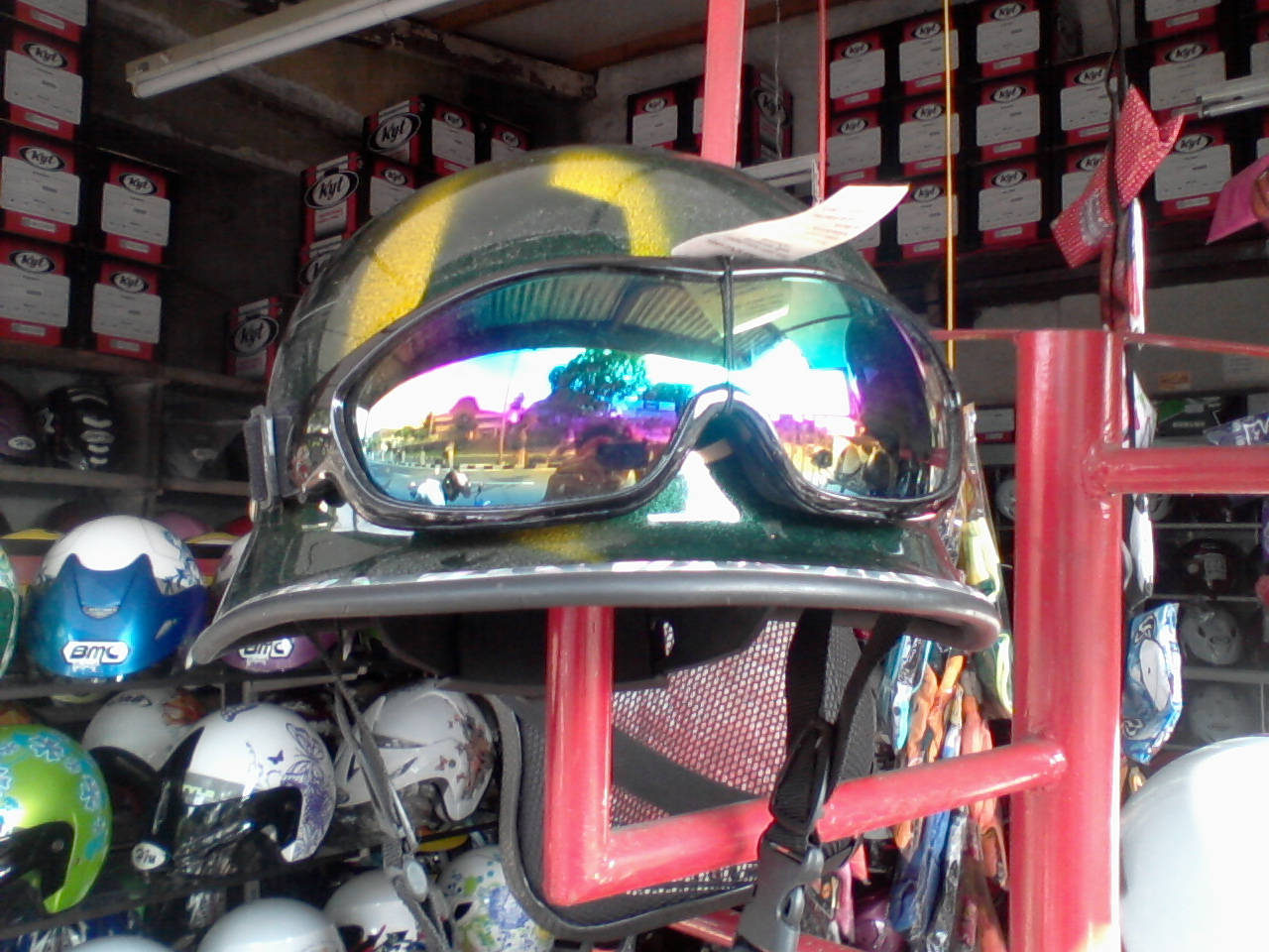 Helm Vespa Kumpeni  Helm Vespa