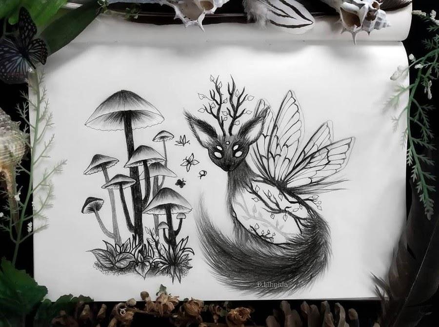 08-Deer-butterfly-cross-Lihnida-Dimeska-www-designstack-co