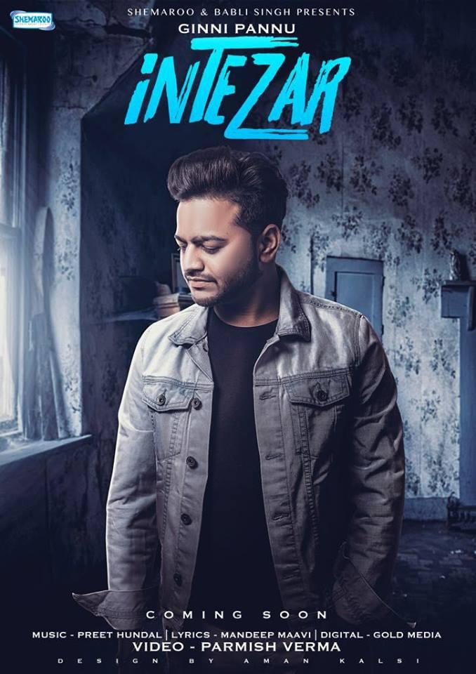 Intezar      Ginni Pannu    new song