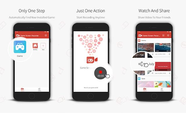 Game Screen Recorder - Aplikasi Perekam Layar HP Android