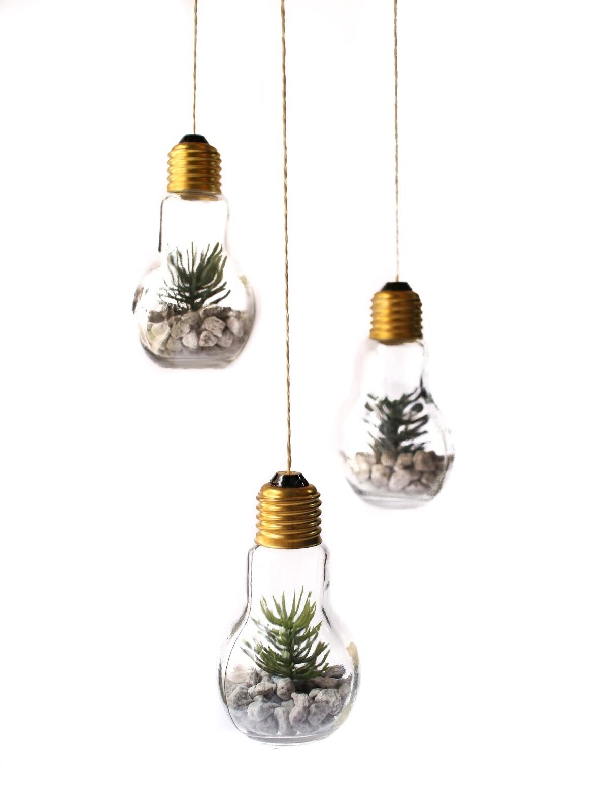 DIY Christmas Gifts under $20 - Hanging Terrarium - MONGABONG