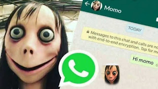 Momo Game || Beware Of 'Killer' Momo Challenge
