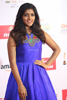 Eesha in Cute Blue Sleevelss Short Frock at Mirchi Music Awards South 2017 ~  Exclusive Celebrities Galleries 042.JPG