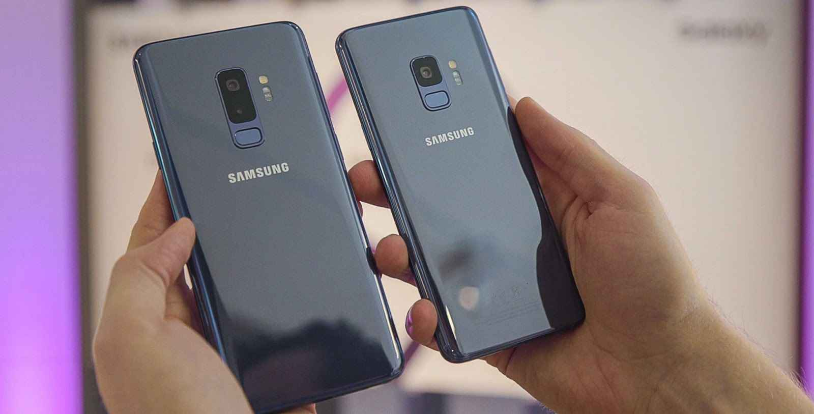 Best Android Gaming Phones For 2018 - The Samsung Galaxy S9 and S9 Plus