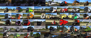 Download Mod trafic indonesia ets2