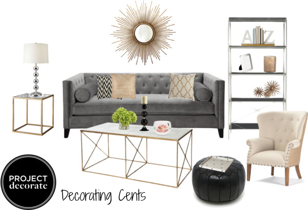 Decorating Cents: Inspiration Boards