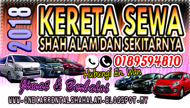 Hubungi Encik Wan - Sewa Kereta Shah Alam Murah