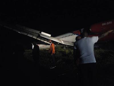 Dana plane crashed