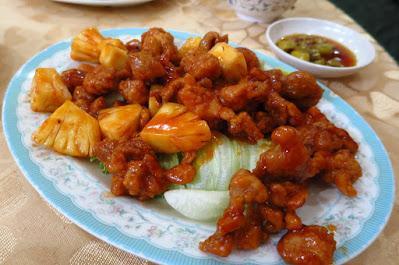 Lao You Ji Seafood Restaurant, pineapple chicken