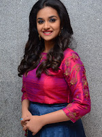 Keerthi Suresh at Remo Success meet-cover-photo