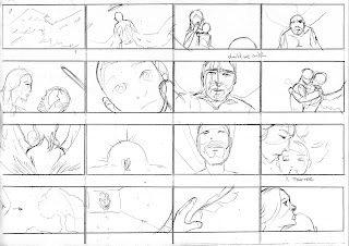"©2013 Snow Patrol's ""The Lightning Strike"" Storyboards (5 of 6). Artwork by Dulani Wilson. All rights reserved to respective owners."