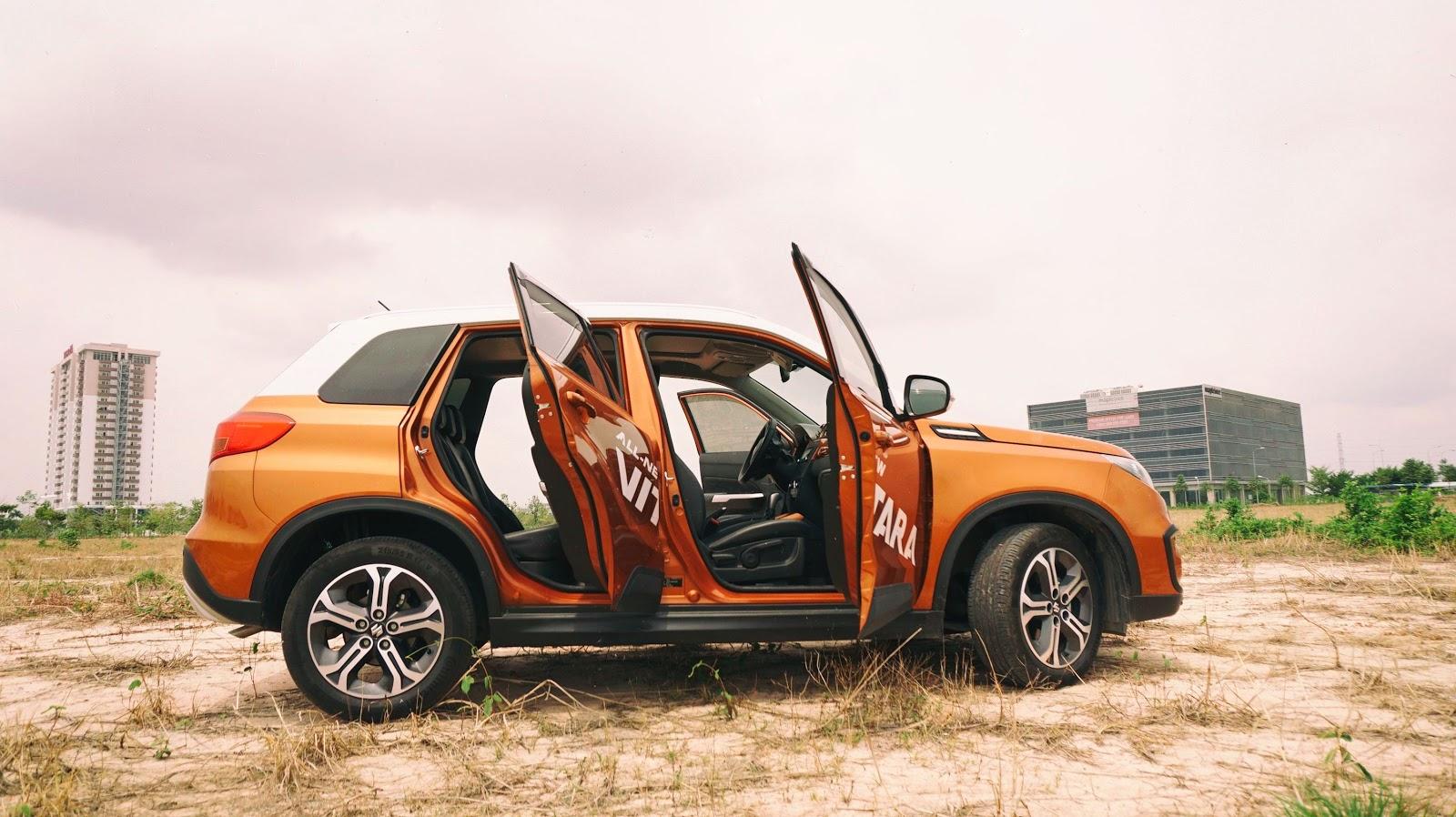 Suzuki Vitara hoàn toàn mới đánh dấu nhiều sự thay đổi và phong cách thiết kế của Suzuki