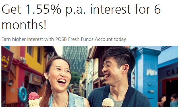 1.55% Fresh Fund Promotion