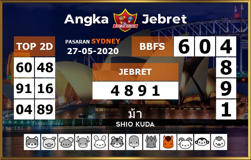 Angka Jebret Pasaran Sydney