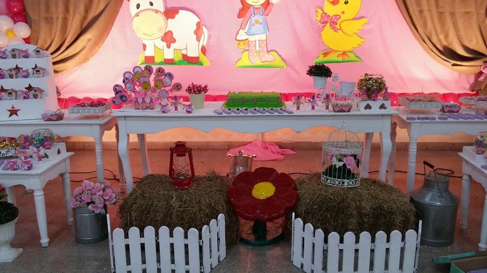 Fiestas personalizadas ideas de decoraci n de granja para - Ideas decoracion pared ...