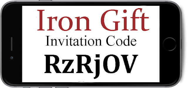 Iron Gift App Invite Codes 2016-2017, Iron Gift Referral Codes, Iron Gift Mobile Download Android and Iphone