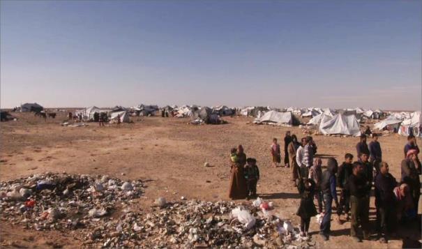 الدفاع الروسية اللاجئون في مخيم الركبان محتجزين بشكل قسري