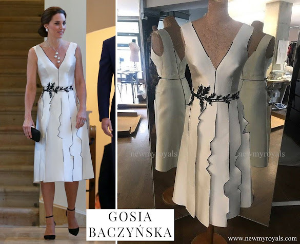 Kate Middleton wore Gosia Baczynska dress