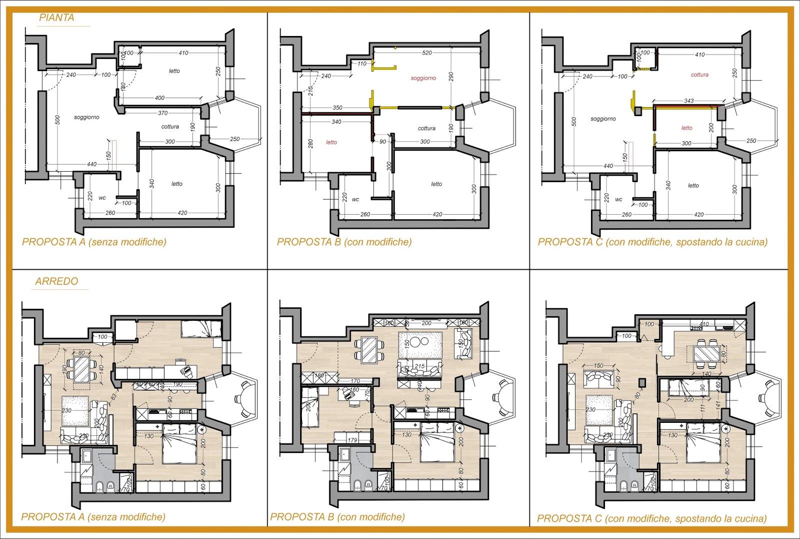 Arredamento e dintorni arredamento blu progetto di arredo for Progetto arredo cucina