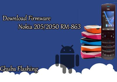 Bi Only yang sanggup anda gunakan untuk melaksanakan flashing pada ponsel Nokia  Download Firmware Nokia 205/2050 RM-863 Version 04.51 Bi Only