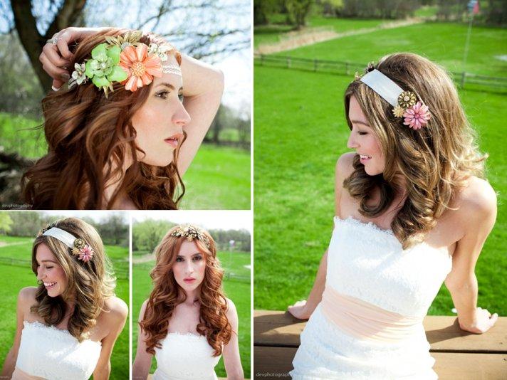 Fine Bridal Fashion Show Summer Wedding Bridal Hair Hairstyles For Women Draintrainus