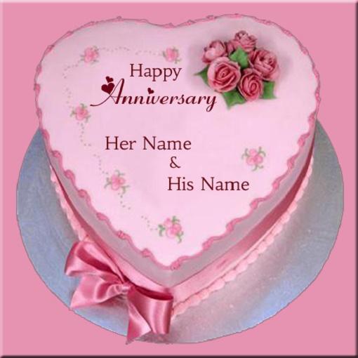 Happy Anniversary Cake Generator