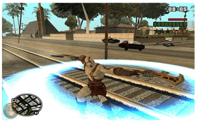 Free GTA San Andreas God of War Mod Download