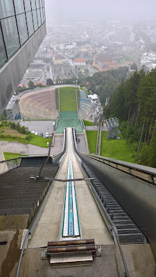 Bergisel Ski Jump: view from the top