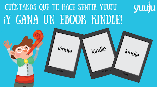 SORTEO LIBRO ELECTRONICO KINDLE