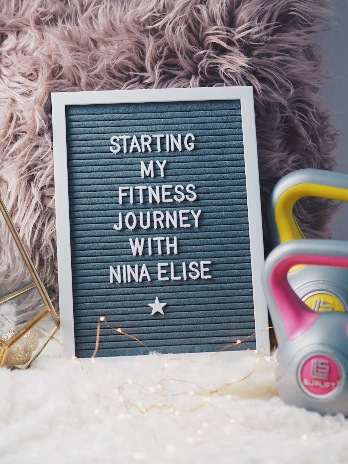 Getting Started On My Fitness Journey With Nina Elise Workouts [AD | Gifted].*