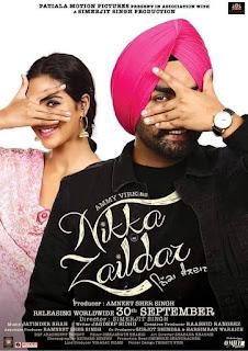 Nikka Zaildar 2016 (Punjabi) Movie 720p Hevc HDRip [600MB]