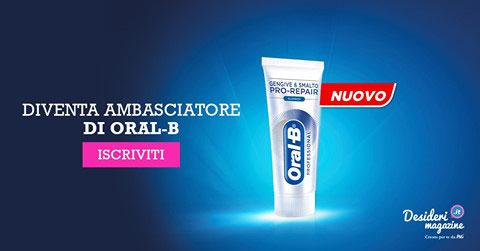 clicca qui per candidarti come tester del dentifricio