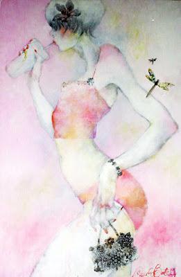 Pinturas con colores pastel