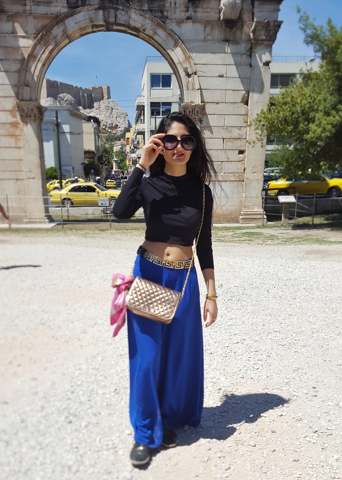 What I Wore: Exploring Ancient Ruins, Athens
