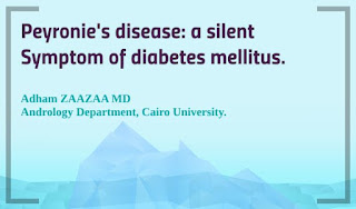 Peyronie's disease: a silent Symptom of diabetes mellitus