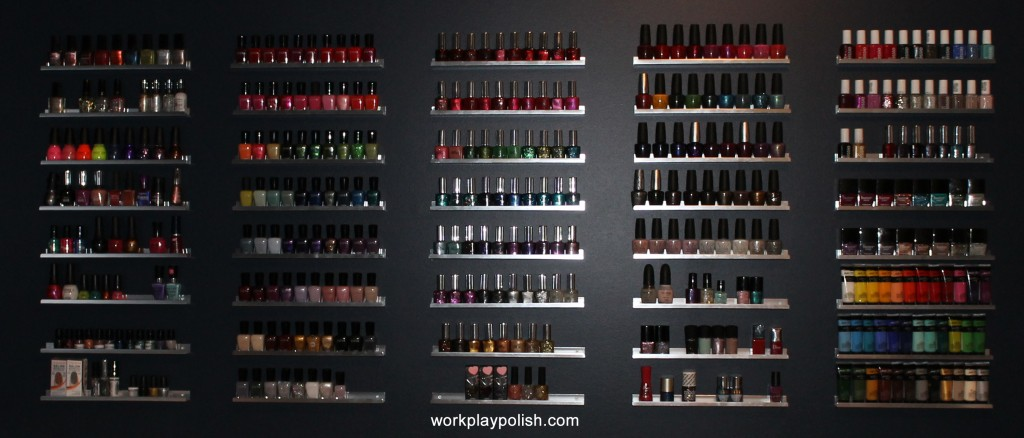 The Mani Cave Polish Storage (work / play / polish)