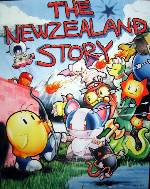 The New Zealand Story - Bob Wakelin