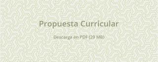 Propuesta Curricular PDF