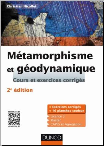 Livre :  Métamorphisme et géodynamique, Cours et exercices corrigés - Gratuit