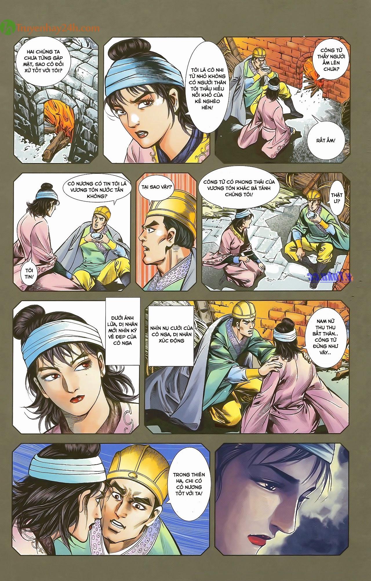 Tần Vương Doanh Chính chapter 29.1 trang 14