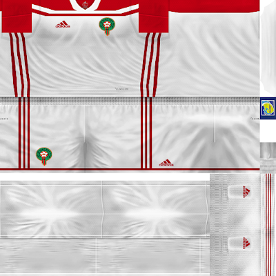 PES 6 Kits Morroco National Team World Cup 2018 by Dibu Edition