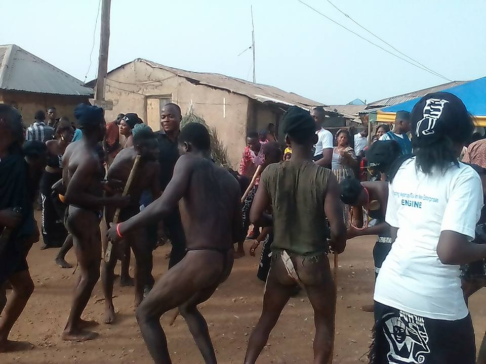 Checkout Gbagyi Festival 2016 In FCT Abuja Were Half Unclad Men Are Dancing