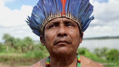 Cacique Arnaldo Kaba ( Kabaremuybu) - Munduruku-1