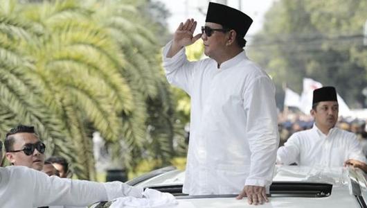 Survei CRC: Prabowo Ungguli Jokowi di Kalangan Pengangguran