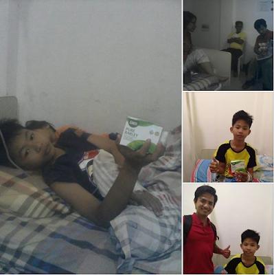 Boy rescued from Dengue through Sante barley