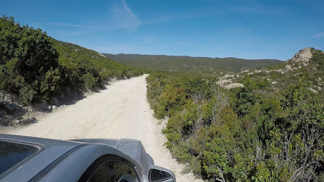 spiaggia saleccia 4x4 natura corsa