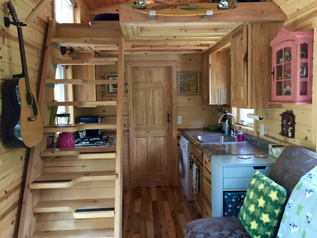pink and purple Ravenlore tiny house
