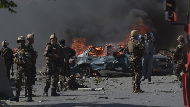Kabul: at least 80 killed by massive car bomb in diplomatic quarter