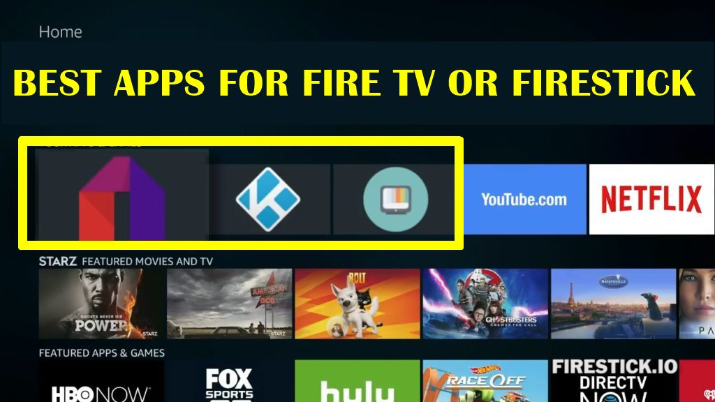 best streaming apps for firestick