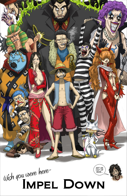 Thousand Sunny Ship: Kisah Perjuangan Luffy di Impel Down
